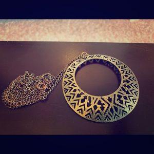 Jewelry - Aztec circle necklace